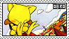 Abra fan stamp by Unknown-Shadow66