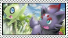 Zorua and Celebi fun by Unknown-Shadow66