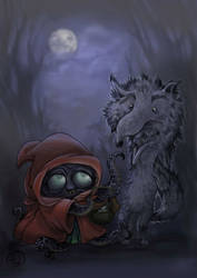 Bad Wolf Meets Little Red
