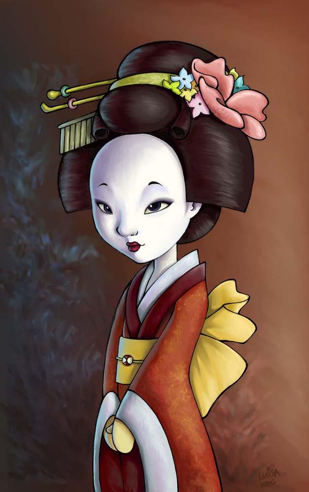 Geisha - colored