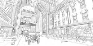 Uptown Sketch