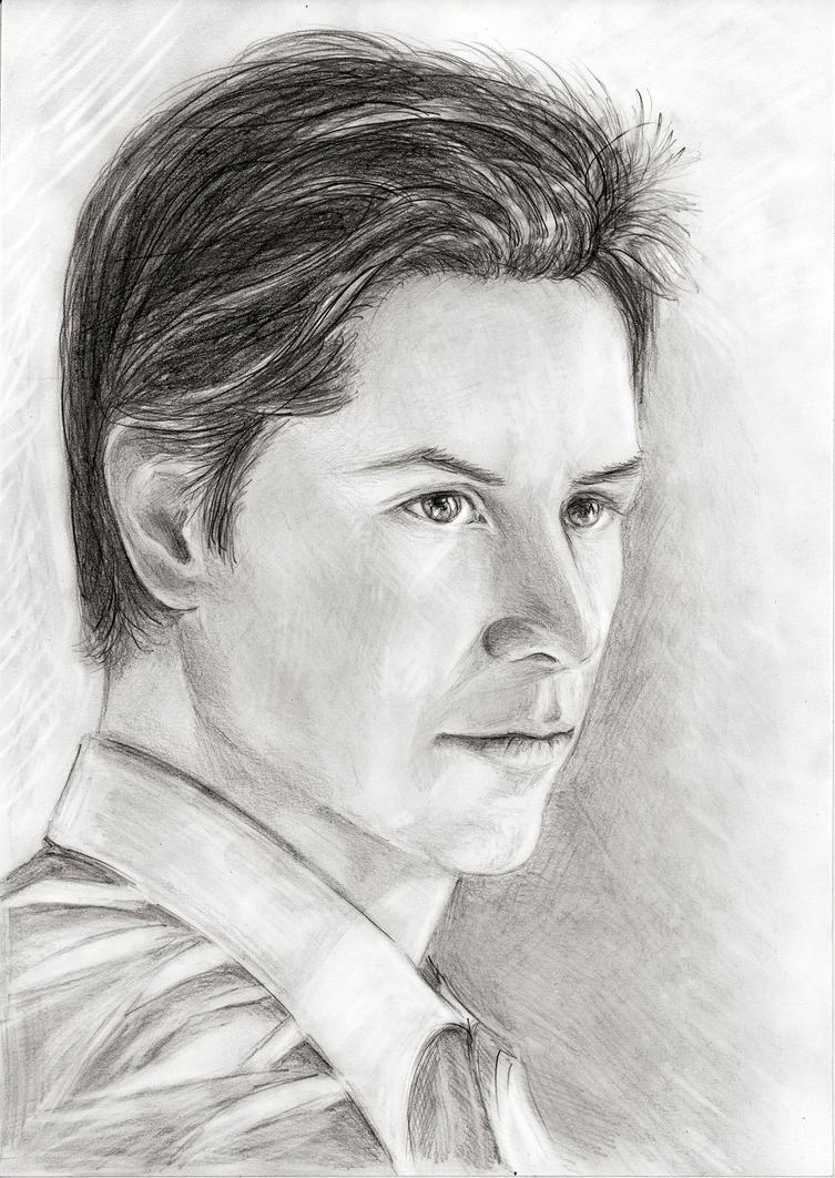 Portrait of Keanu Reeves by Vilenchik