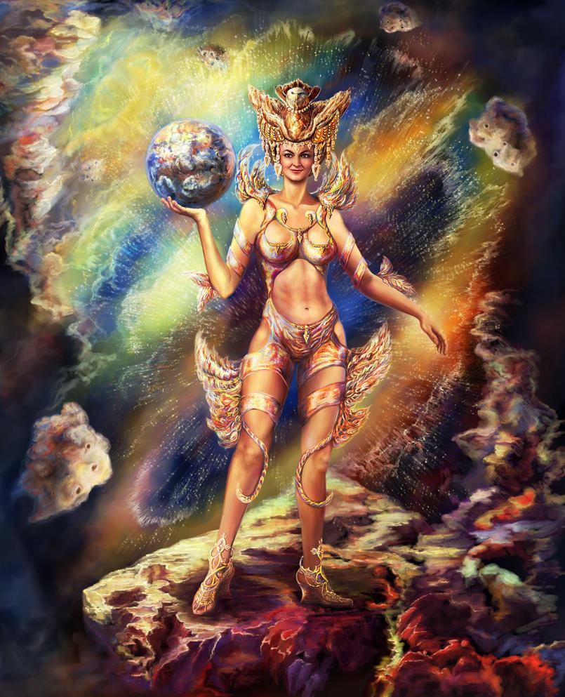 Goddess of Creation. DW V by Vilenchik
