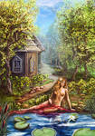 Bather-girl by Vilenchik