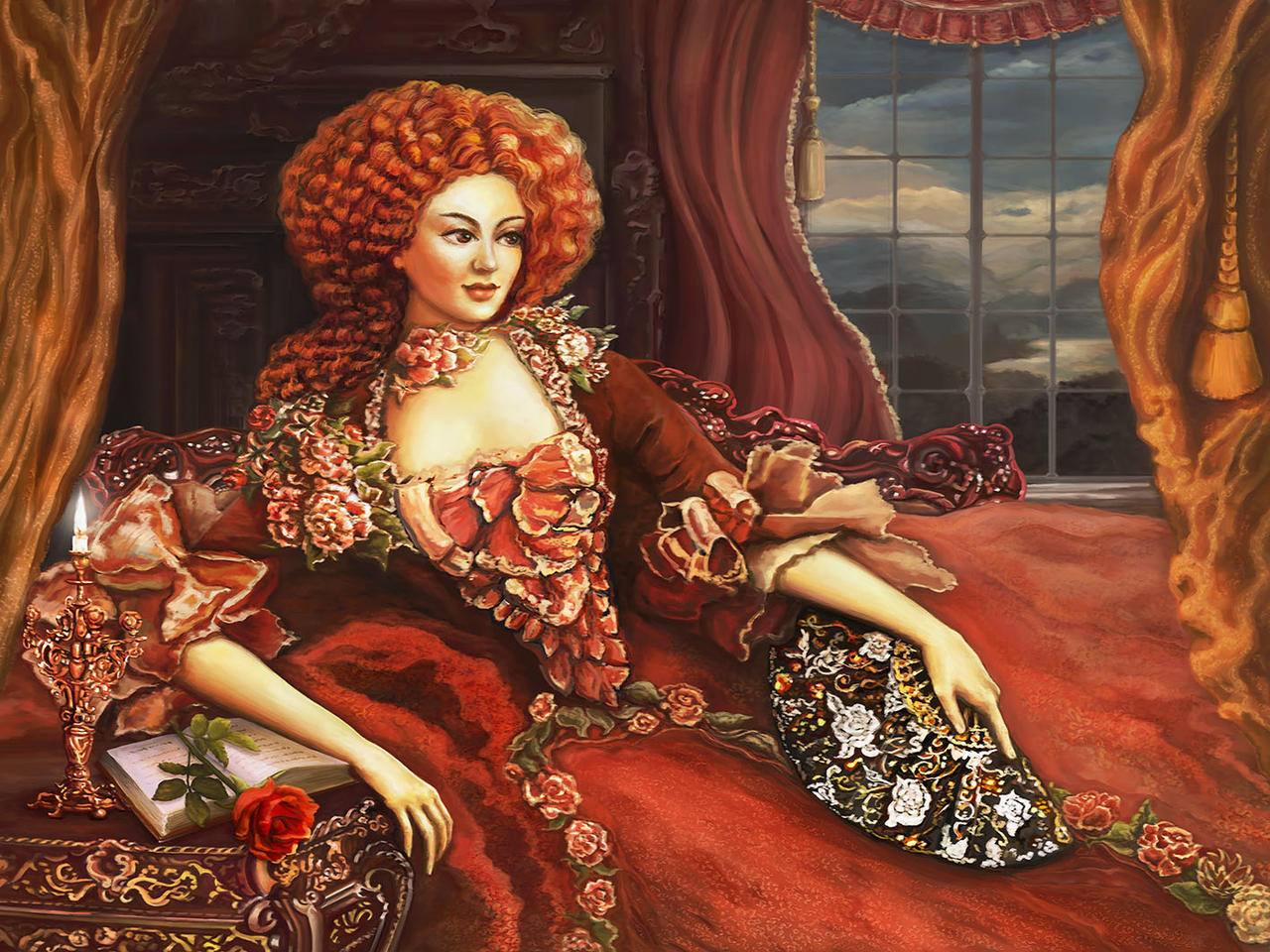 Aristocrat woman of Laar by Vilenchik