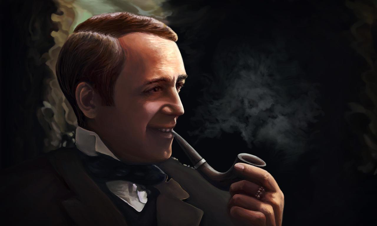 Detective smile by Vilenchik