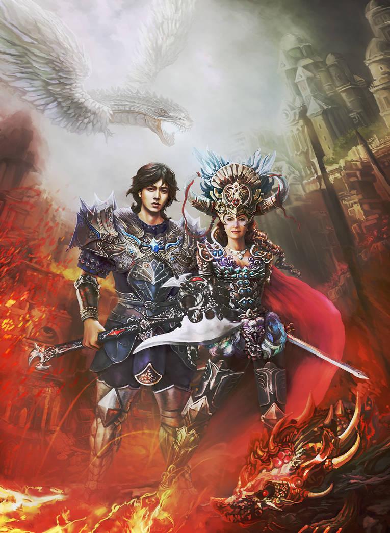 In Fantasy World by Vilenchik