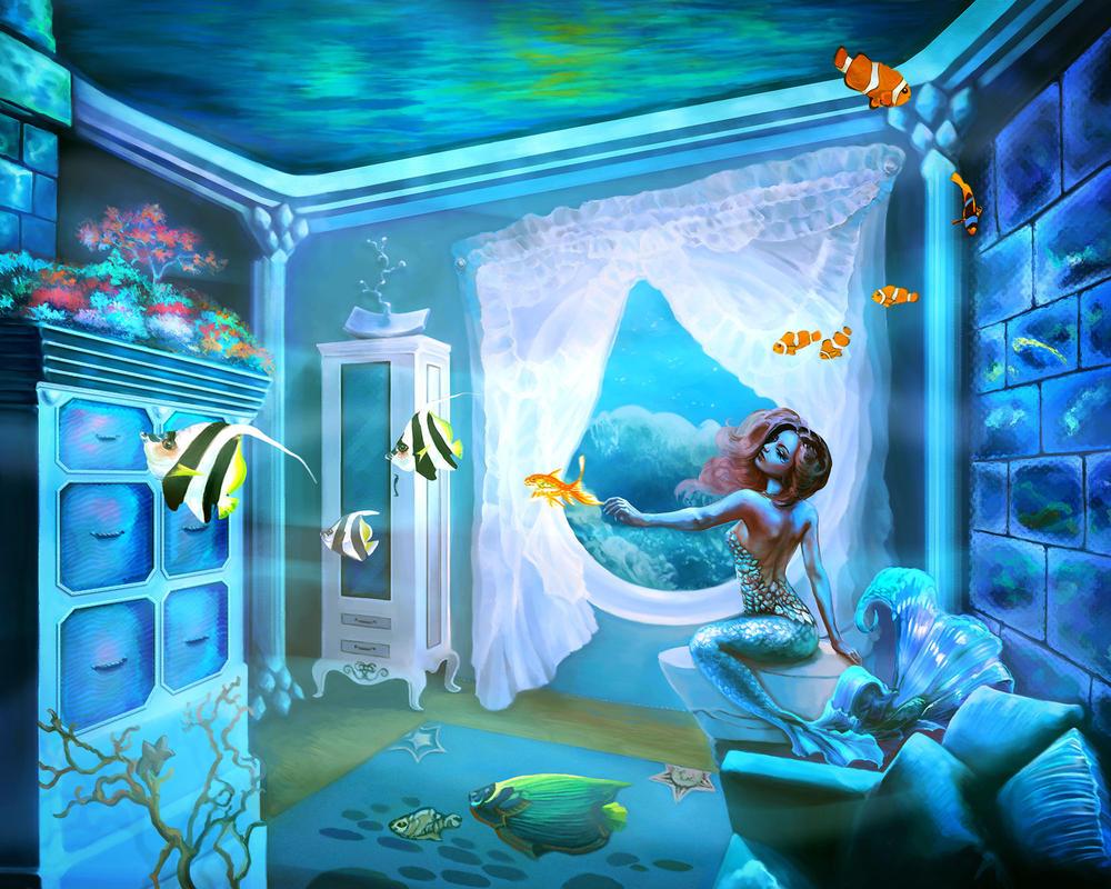 In Mermaid's Home by Vilenchik