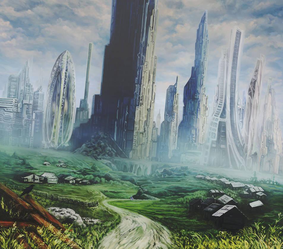 Megapolis in the neighborhood by Vilenchik