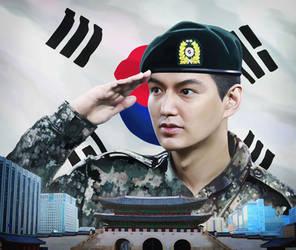 Korean Soldier by Vilenchik