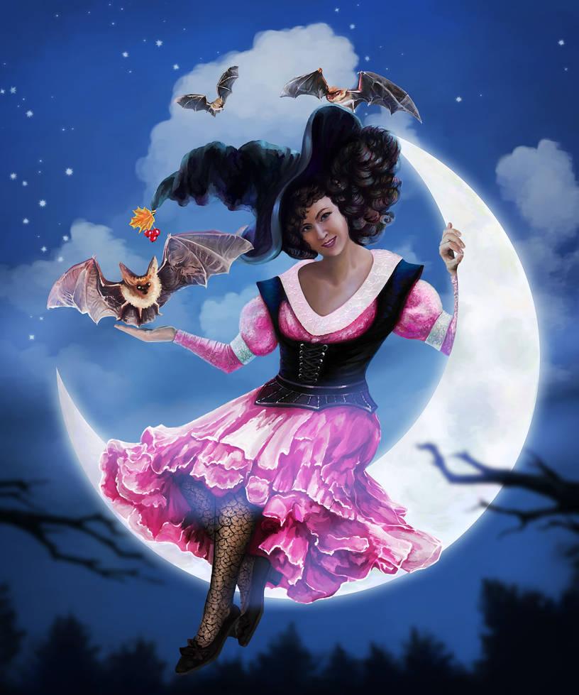 Miss Witch by Vilenchik