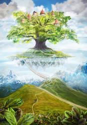 Visit in a Fairy tale by Vilenchik