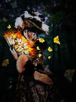 <b>Sorceress Playing With Fire</b><br><i>Vilenchik</i>