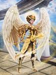 Golden Goddess by Vilenchik