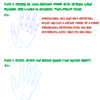 how to draw hands by Milonaii