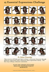 Expression Chart: Ryker Eastridge by SystemEmotions
