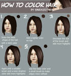 Hair Coloring Tutorial