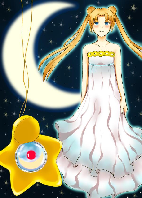 Princess Serenity by 5ammay