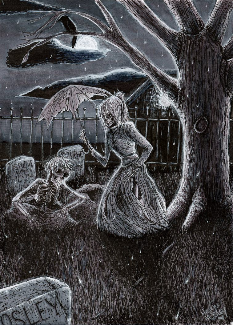 Skeleton Love by Moo-sers