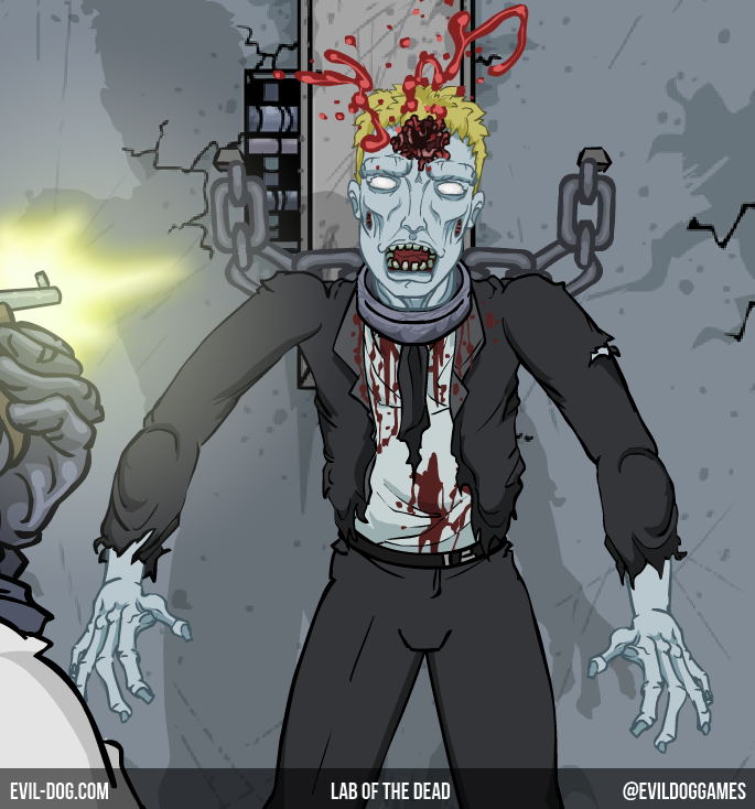 lab of the dead corporate zombie by evildoggames on