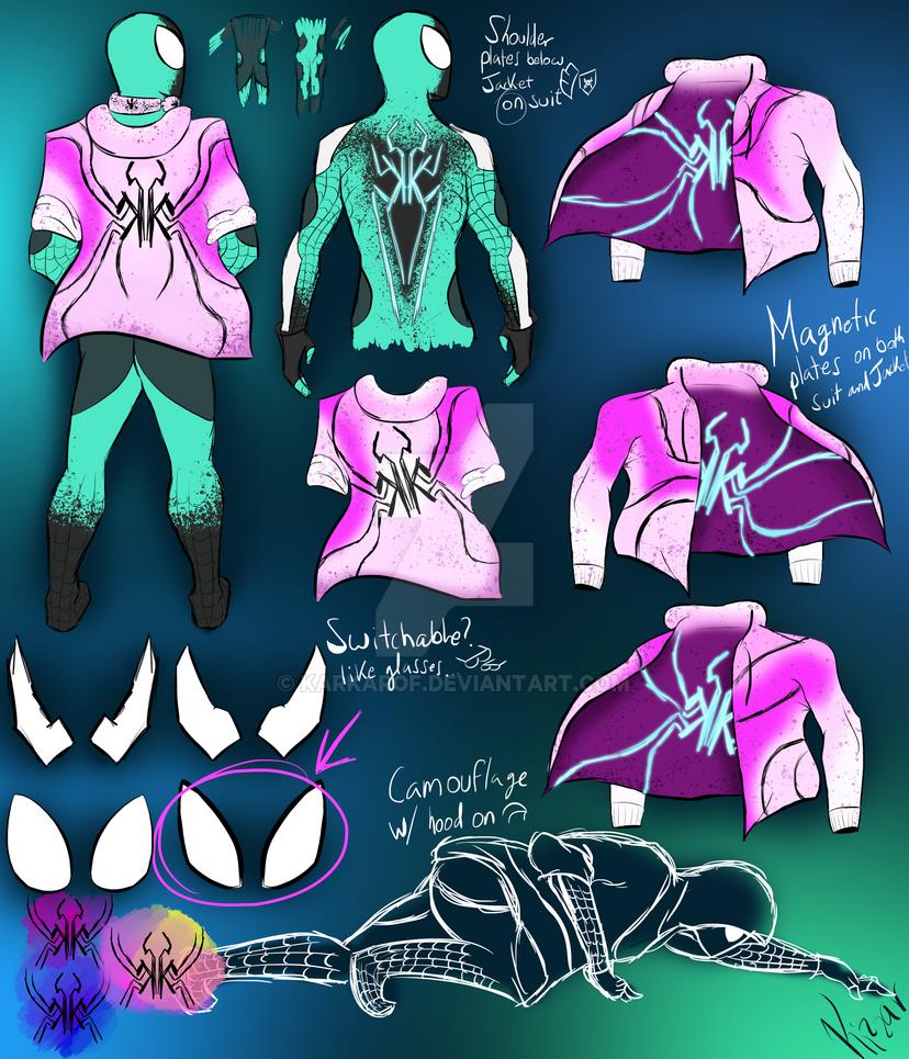 Spider Wave -Character Sheet- by Karkarof