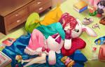 Cuddly Dreams by Dicentrasterisk