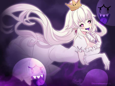 Princess King Boo by Dicentrasterisk