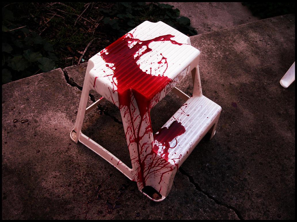 bloody stool by darkerthanblack on deviantart, Skeleton