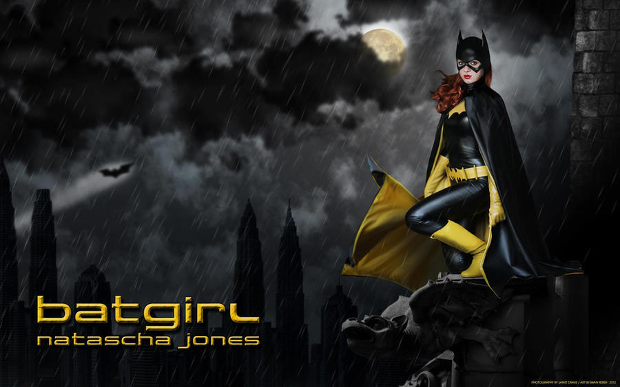 Barbara Gordon - Batgirl Wallpaper by Knightess-Rouge