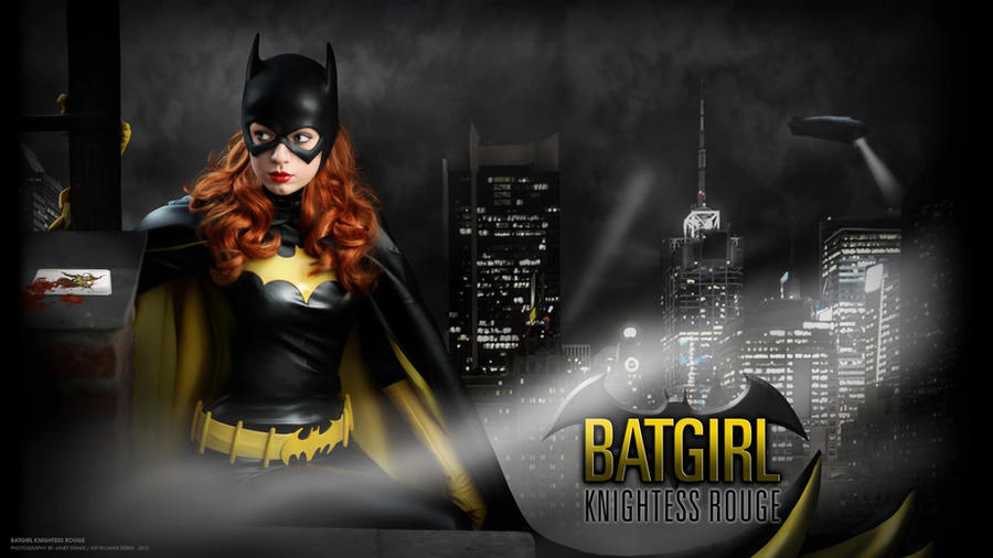 Barbara Gordon - Batgirl Wallpaper II by Knightess-Rouge