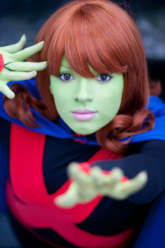 Young Justice - Miss Martian I by Knightess-Rouge