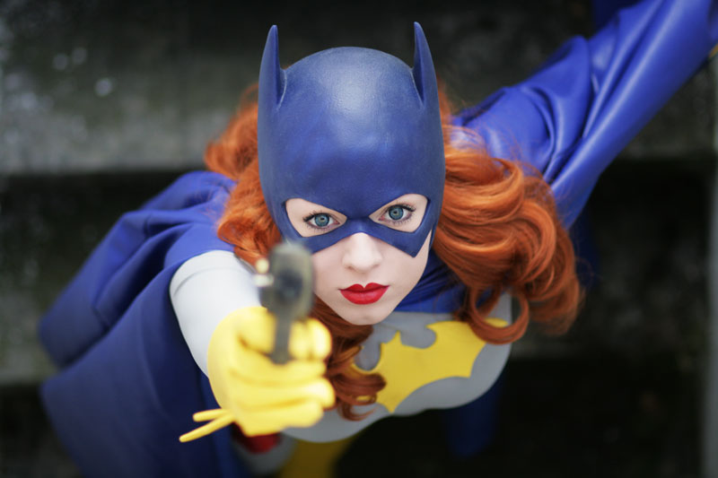 Batgirl Cosplay Silver Age by *Knightess-Rouge