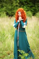 Pixar's Brave: Merida III by Knightess-Rouge