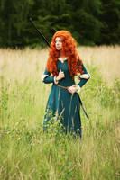 Pixar's Brave: Merida I by Knightess-Rouge