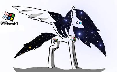 Windows NT pony by windowsOS-tan-artist