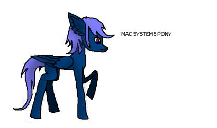 Mac System 5 Pony by windowsOS-tan-artist