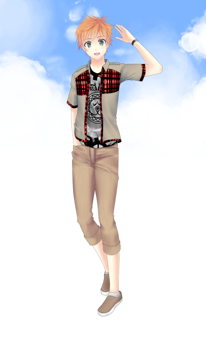 MM : Magnum's Summer Casual Outfit by froznkamui