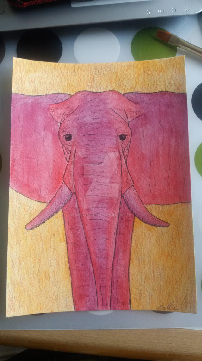 Elephant by HoneyThePandaa