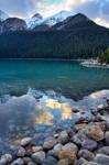 Evening at Lake Louise II