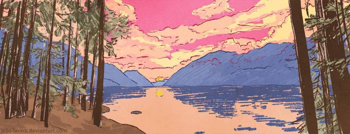Vancouver Lake by jello-bomb