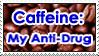 Caffeine: My Anti-Drug Stamp by Stick-Man-Montage
