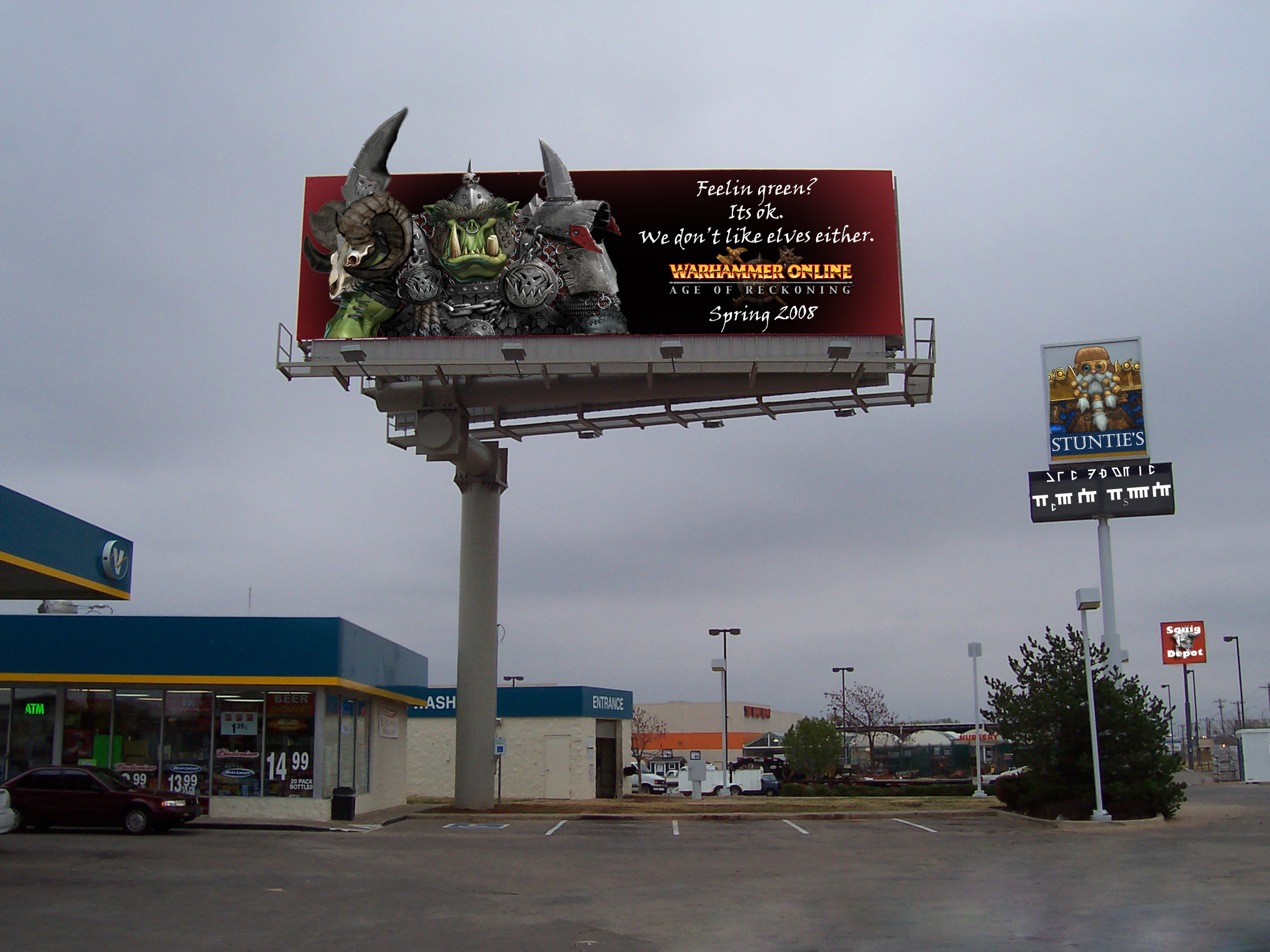 Warhammer Billboard by KowBasher