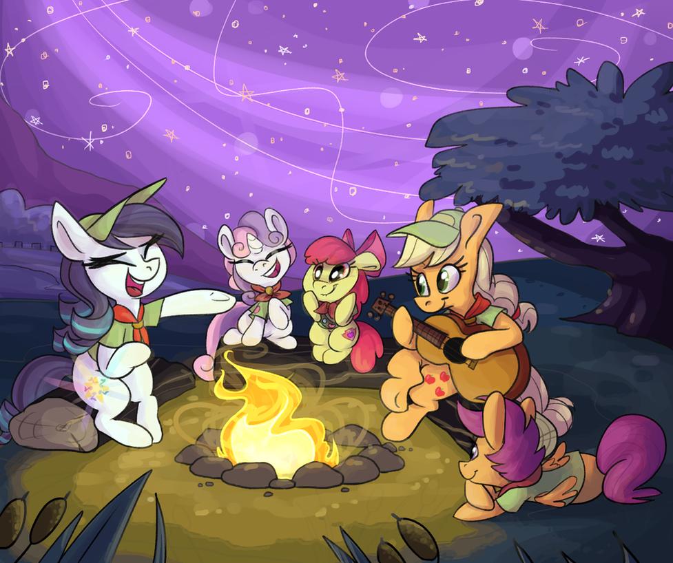 Camp Rara by PonyGoggles