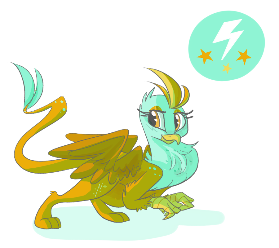 But what if pony was griffon by PonyGoggles