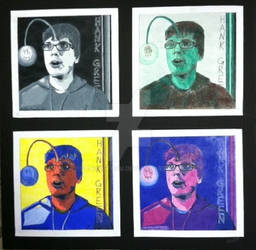 Hanklerfish Postage Stamps by FangOfTofu