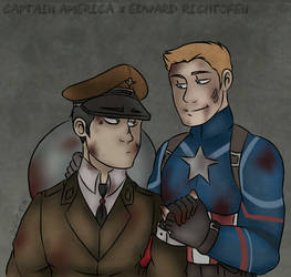 Captain America x Richtofen - Hell and Back by O-F-T-E-N