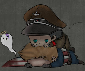 Captain America x Richtofen - Hey... by O-F-T-E-N