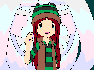 Mochi in Digimon Frontier by VeronicaPrower