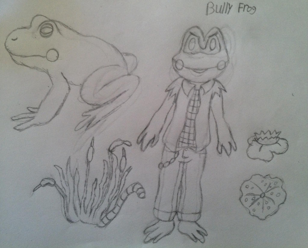 Bully Frog concept art stuff by VeronicaPrower