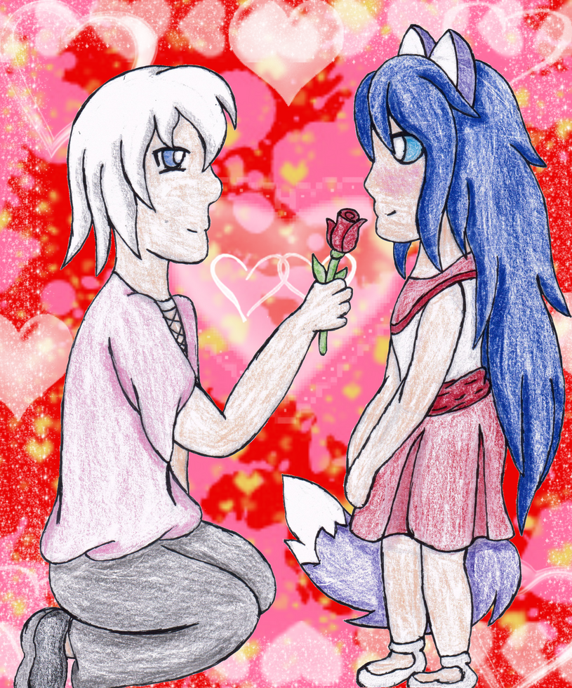 Be My Valentine~? by VeronicaPrower